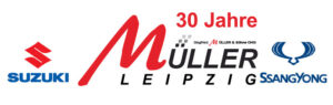 Müller Leipzig Logo 30 Jahre